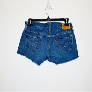 Levi's Shorts - Levi's 501 Cut Off Jean Shorts with  Button Fly